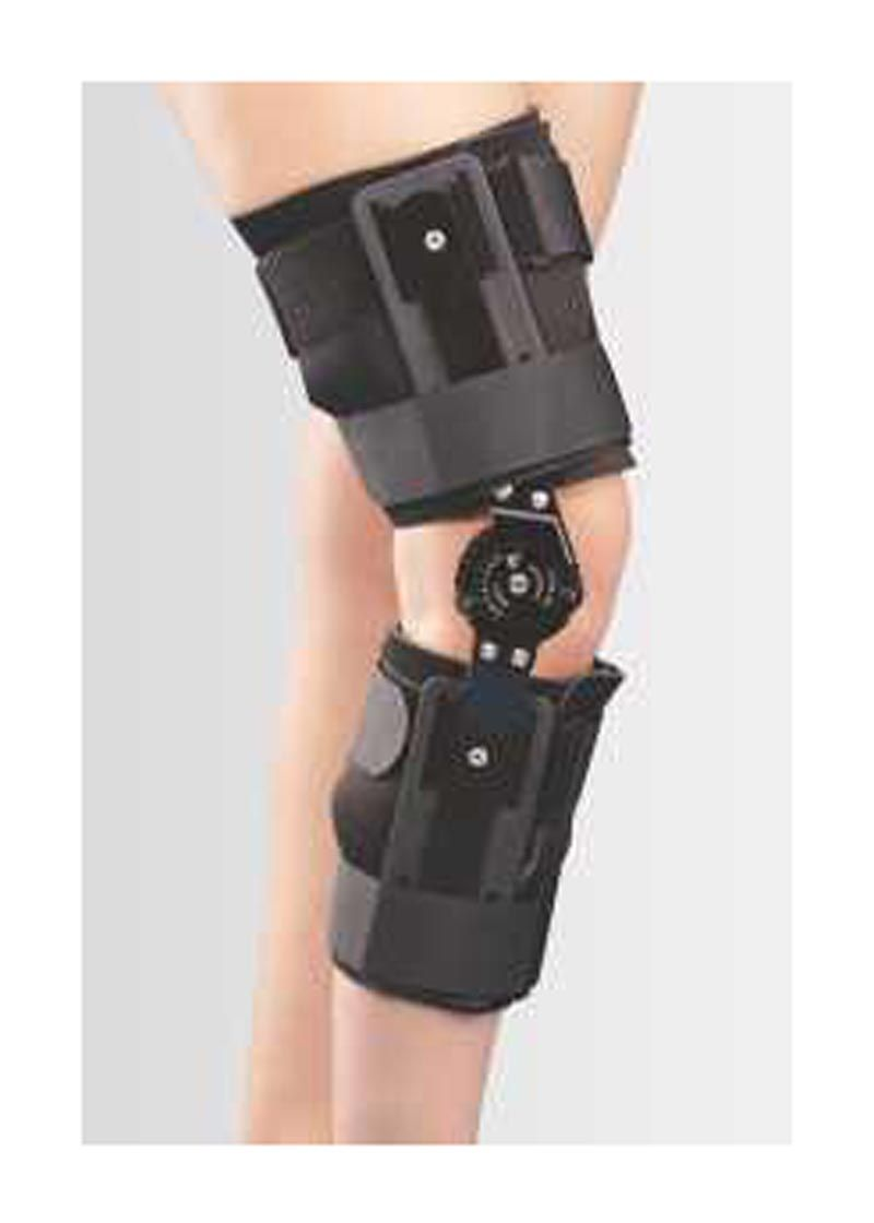 565589b0dc Tynor R O M Knee Brace Prefabricated, custom adjusted R.O.M. Knee Brace  controls and restrict flexion/extension of the knee joint through a  multi-point ...