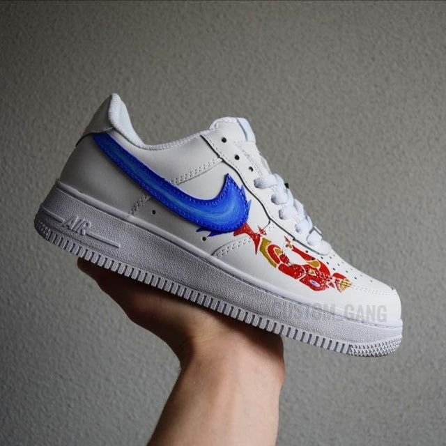 Custom Nike Air Force Iron Man in 2020 | Schoenen
