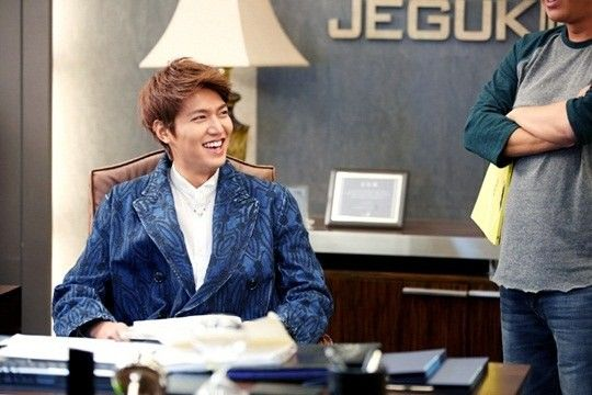 Lee Min Ho - The Heirs BTS