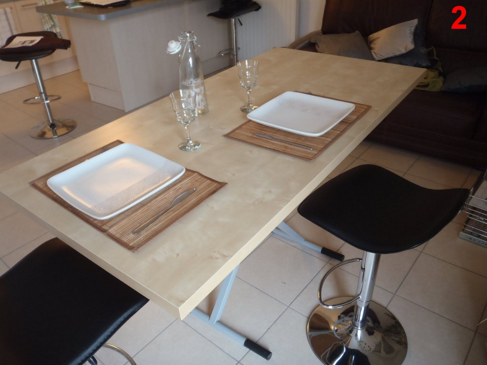 Lift coffee table | Coffee table to dining table, Diy ...