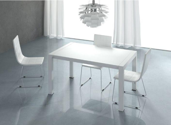 Mesa BlancoMedidas140200 X 90 Comedor ExtensibleLacada En 0wnNmv8O