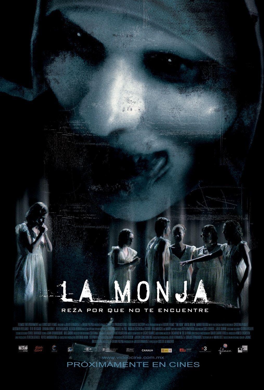 Cinelodeon Com La Monja Ficha Técnica Spanish Movies Horror Movie Posters Full Movies