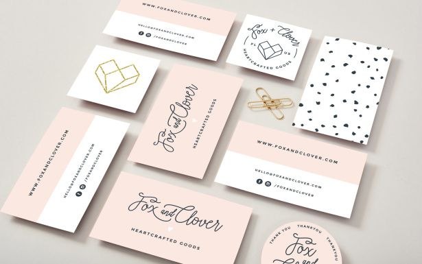 Creating A Perfectly On Trend Yet Timeless Brand Aeolidia Business Card Design Graphic Design Business Card Business Cards Beauty