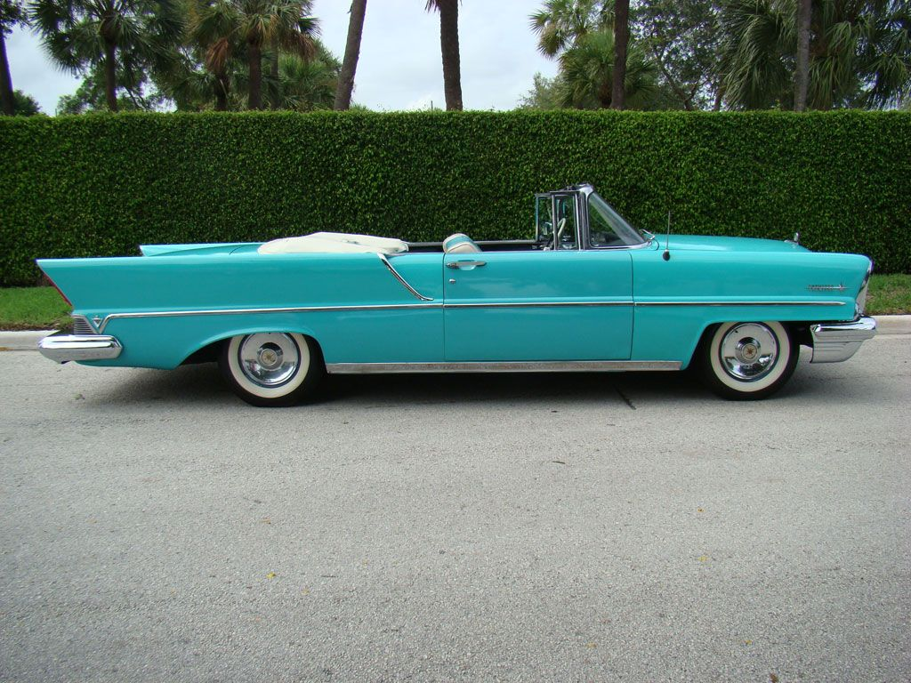 1957 Lincoln Premiere Convertible | Wheels, Wings & Waves ...