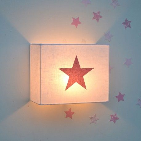Lampara Infantil De Pared Estrella Aplique Applique Murale Etoile Lamparas De Pared Apliques De Pared Lampara De Estrellas
