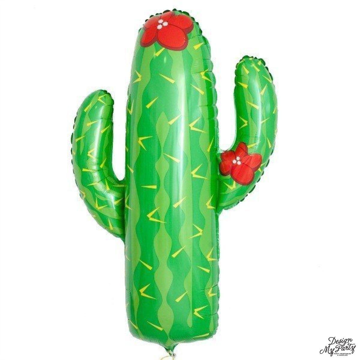 Jumbo Foil Cactus Balloon