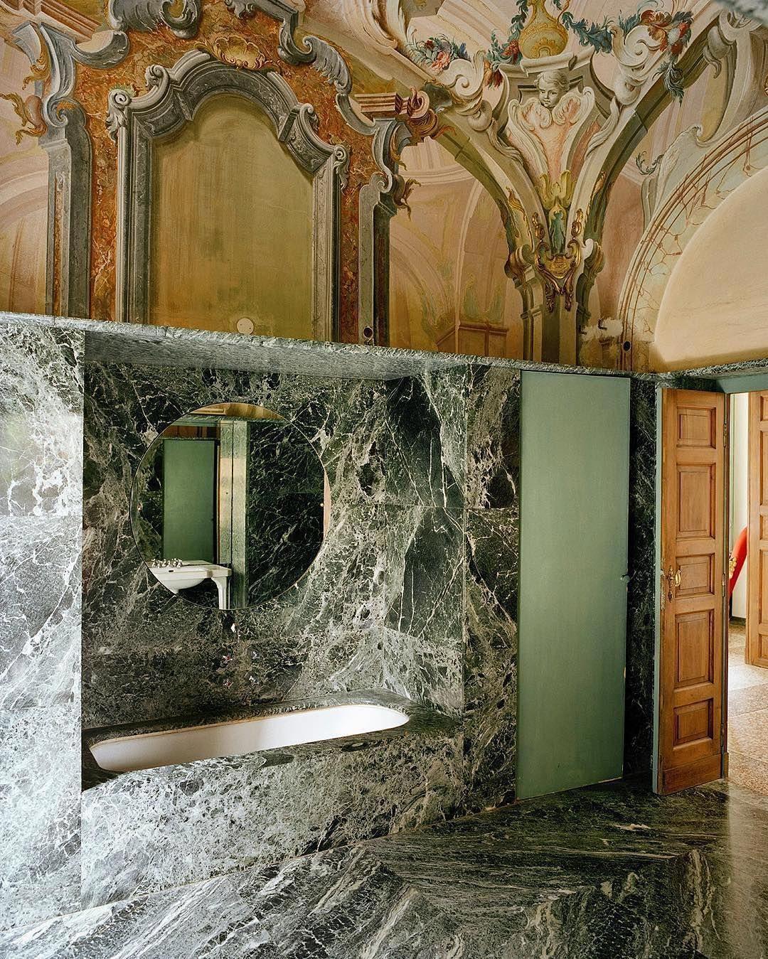 Villa Panza By Portaluppi Interieur Salle De Bain