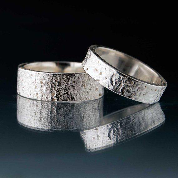 Concrete Texture Wedding Band Wedding and Wedding
