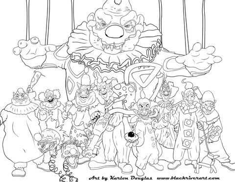 Free Adult Coloring Pages From Black River Art By Artist Karlon Douglas