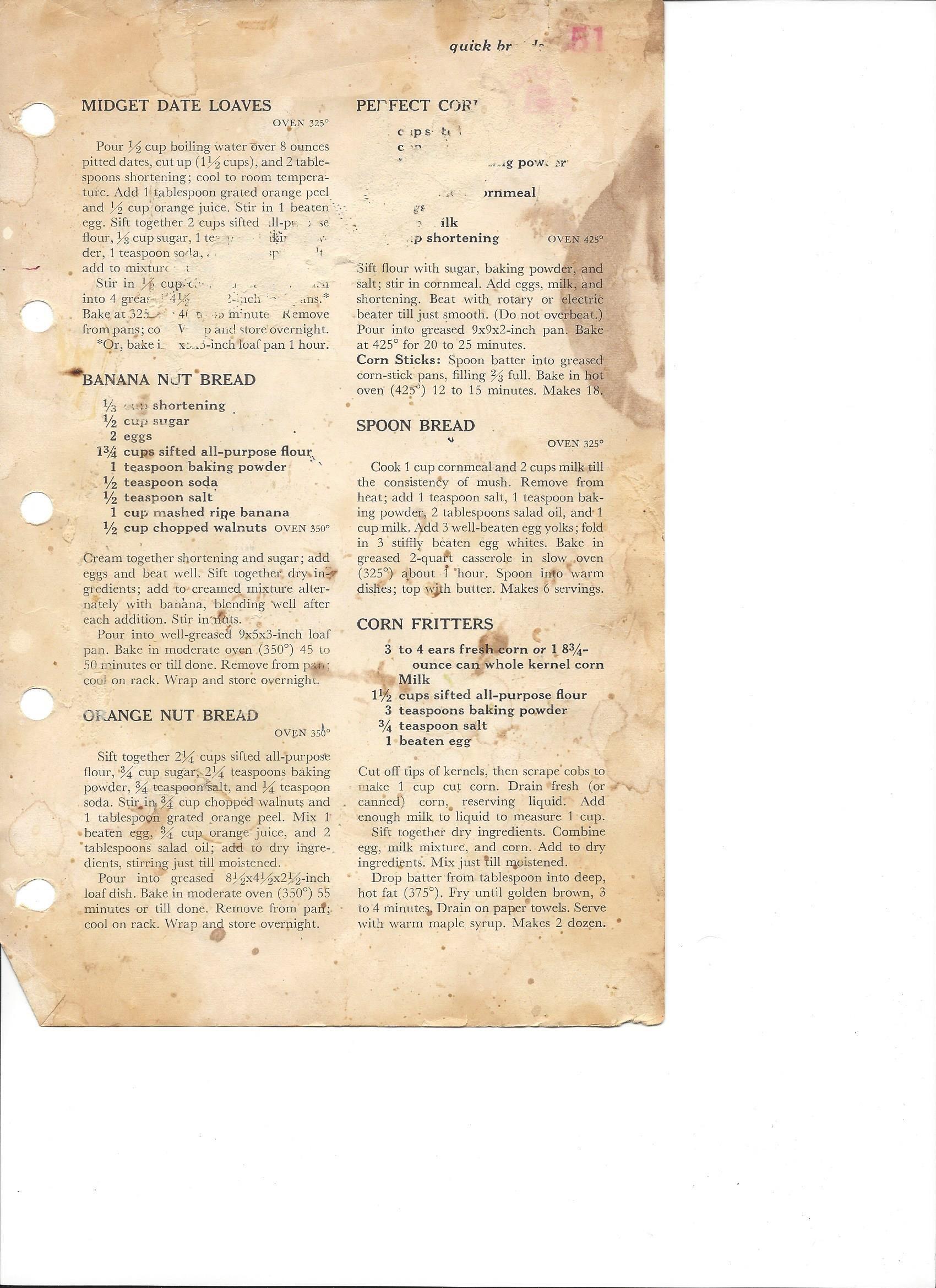eacdb71803d1c2e1829aa9874d0ae035 - Better Homes And Gardens New Cookbook Banana Bread Recipe