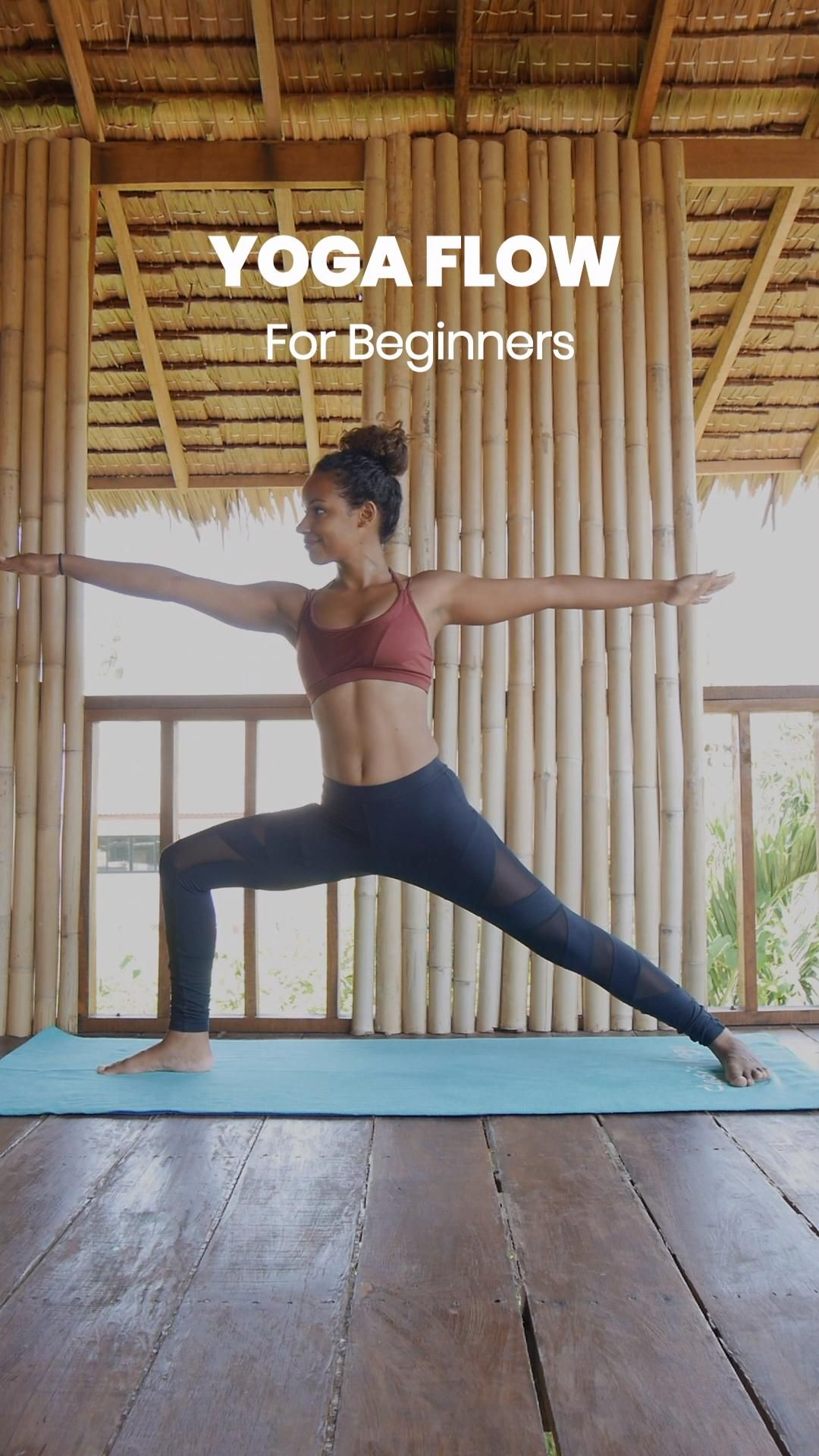Yoga for Beginners: Easy 5 min Routine