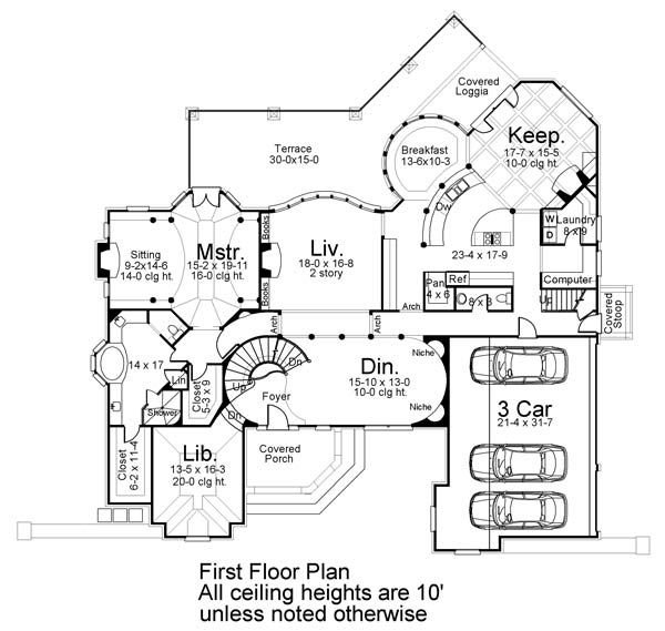 Two Story Estate House Plan Victorian House Plans Floor Plans Monster House Plans