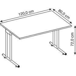 Desks & desks -  Hammerbacher Desk Prokura white rectangular HammerbacherHammerbacher  - #amp #cheaphomedecor #colorfulhomedecor #desks #homedecorchic #homedecordecoracion #homedecorinspiration #homedecorplants #homedecorthemes #quirkyhomedecor