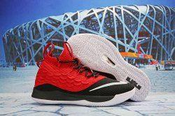b3e2c549d70e Nike LeBron 15. 5 Red Black White Men s Basketball Shoes James Trainers