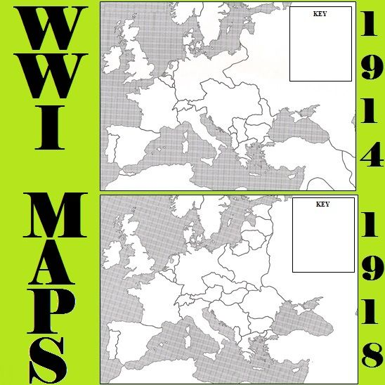 Wwi map activity social studies wwi and map activities wwi map activity publicscrutiny Choice Image