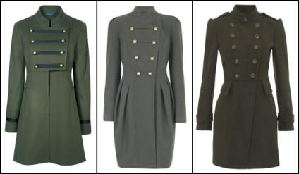 1000  images about Military Style Coat/Jacket Inspirations on