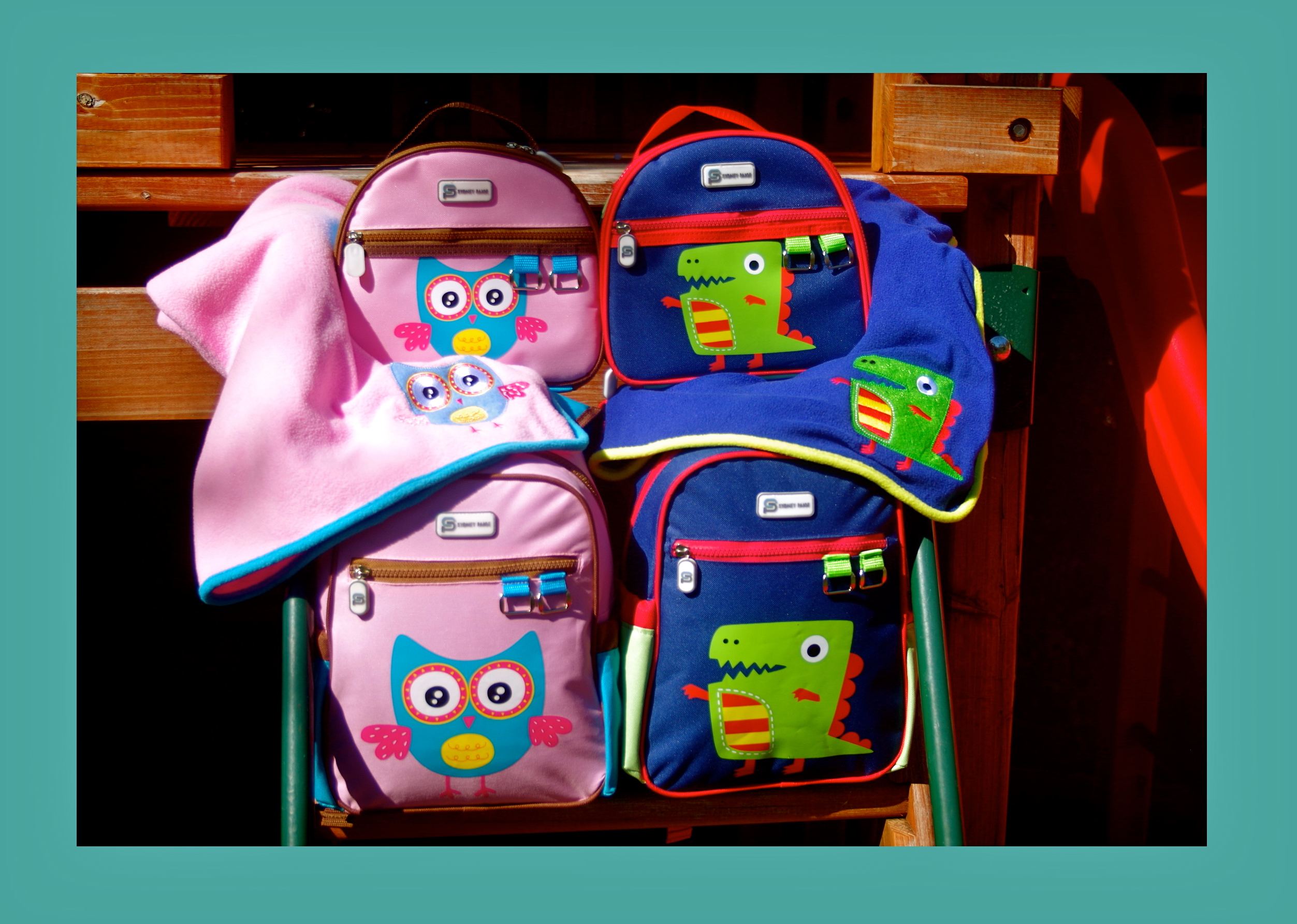 b74b6b78b30 Toddler backpacks, lunch bags and nap blankets . . . for every purchase, a  matching product is donated to a child in need in the United States.