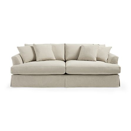 View the Emory Slipcovered Grand Sofa from Arhaus This slipcovered