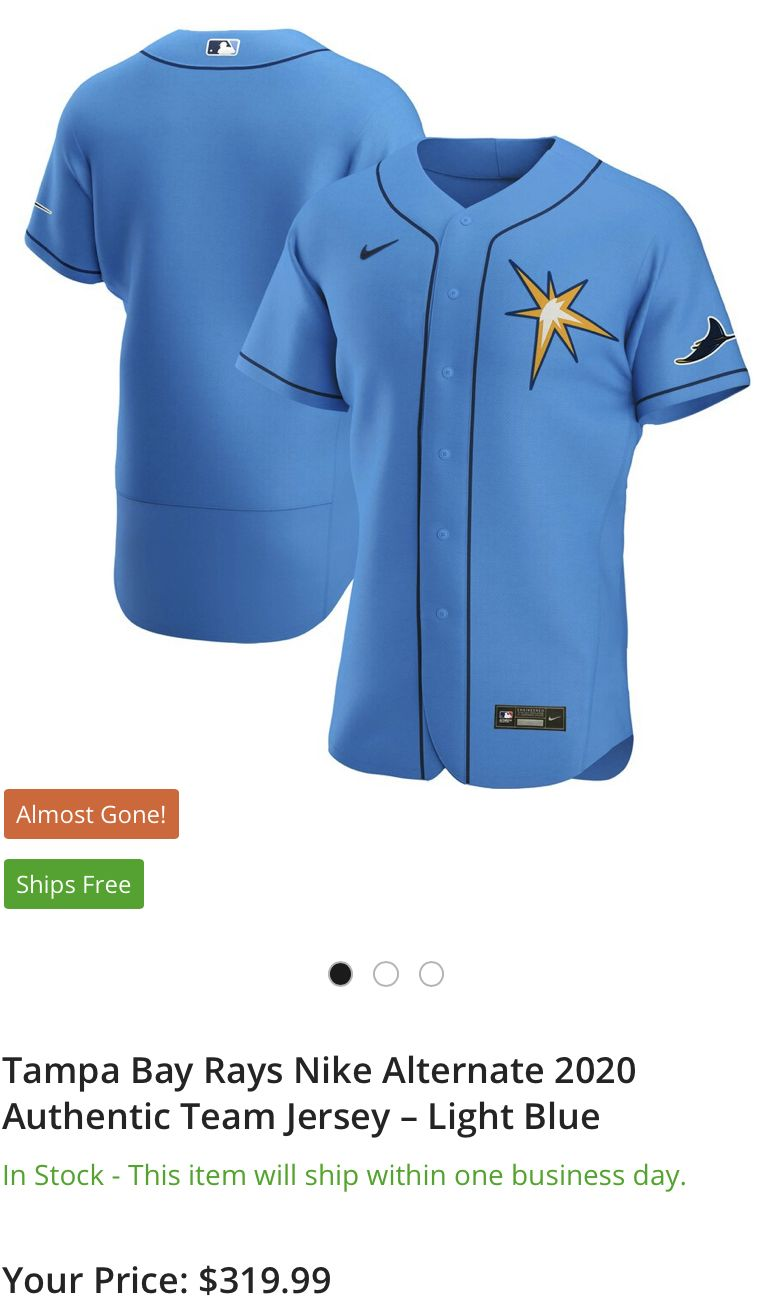 Tampa Bay Ray Authentic Spring Attaining In 2020 Tampa Bay Rays Team Jersey Sweatshirts