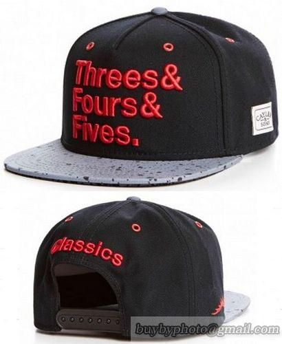 Cheap Wholesale Cayler   Sons Snapback Hats Caps Three Fours Five Classics  Black Brim Spot for. Snapback HatsHiphopCap ... 9117f334c2a8
