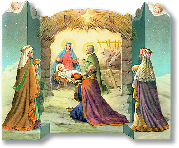 Nativity - tutorial and free printable full color pdf ...