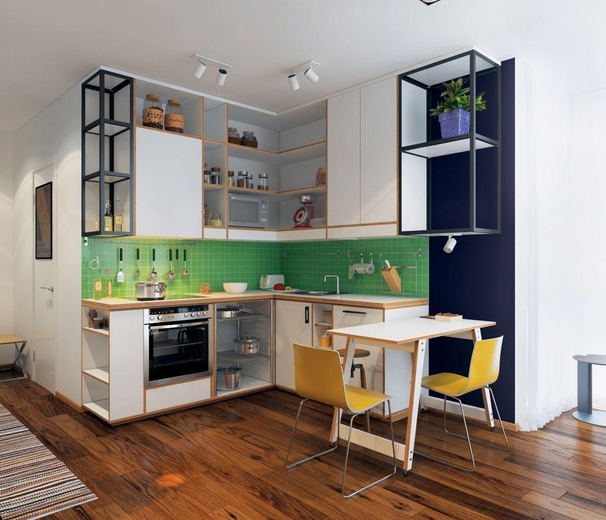 cute-green-kitchen   Herrlicher, 50er und Küche