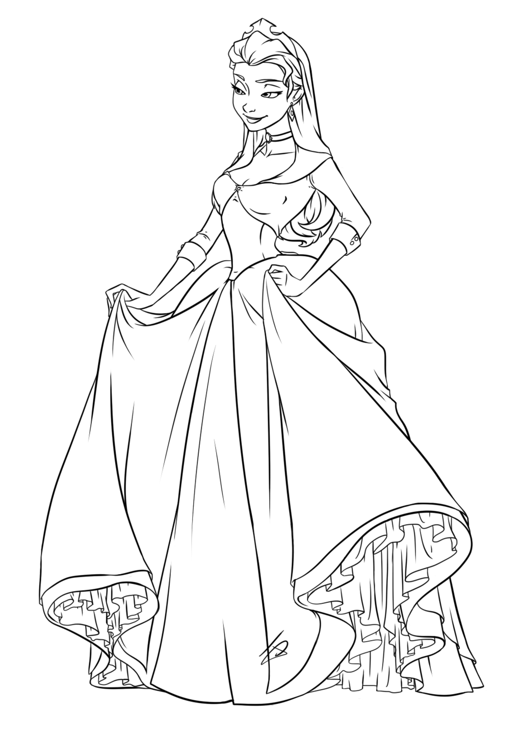 Princess Amber By Jessdeaton On Deviantart Princess Coloring Pages Cartoon Coloring Pages Barbie Coloring Pages
