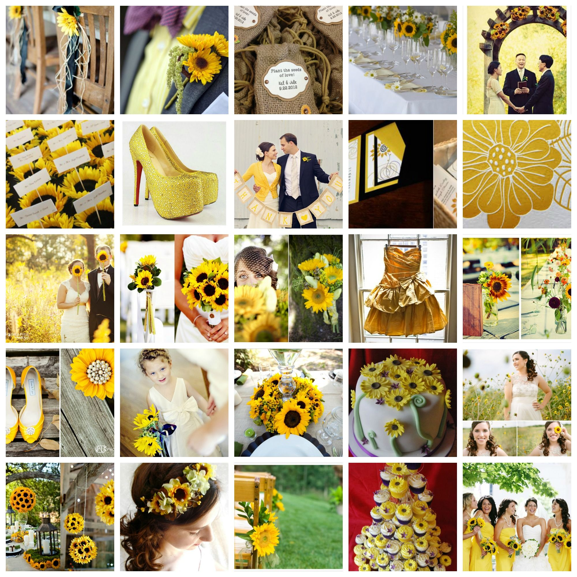 Sunflower Wedding Cake Ideas | Walking on Sunshine - Sunflower ...