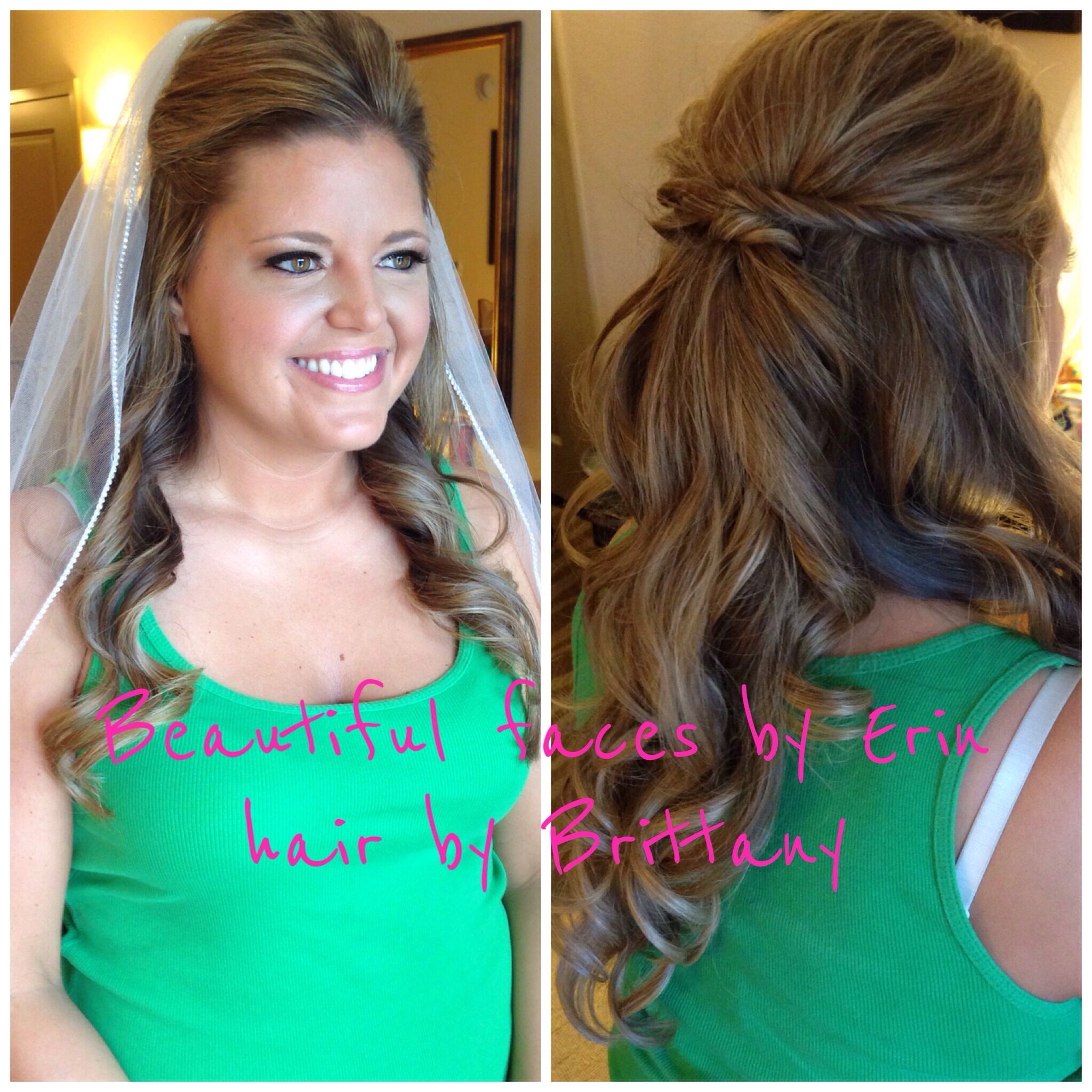 Wedding hair and make up -- beautiful faces by Erin