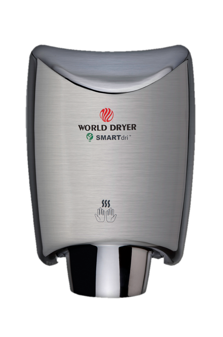 World Dryer SmartDri Hand Dryer Co. Based In Illinois