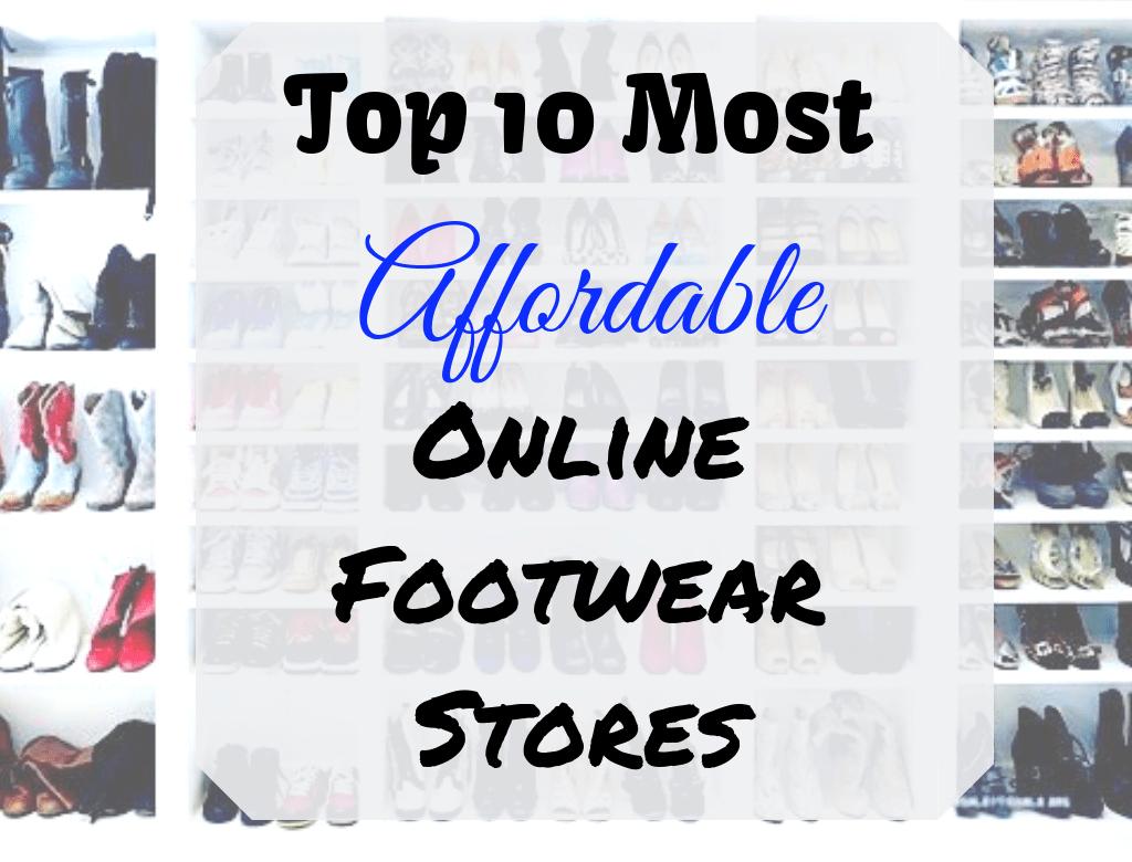 Top 10 Cheap Online Shoes Stores | Shoe