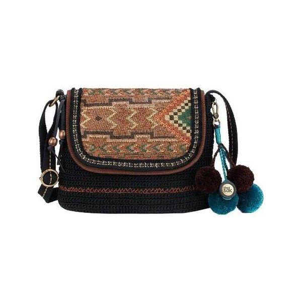 Women's THE SAK Brannan Flap Crossbody Bag (€75) ❤ liked on Polyvore featuring bags, handbags, shoulder bags, casual footwear, casual handbags, brown crossbody purse, crossbody purses, man bag, handbag purse and shoulder handbags