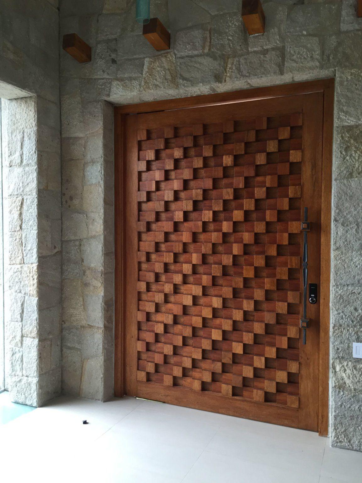Stunning Wooden Main Door Design Ideas