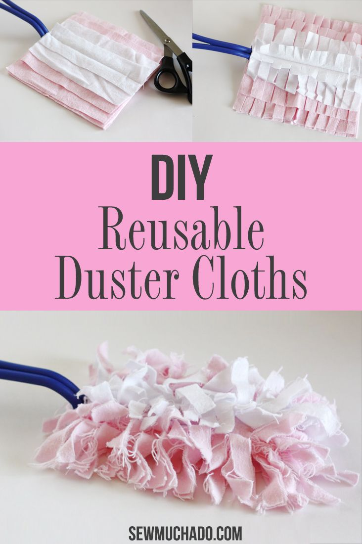 Reusable Swiffer Duster Cloths Tutorial Reusable Swiffer Duster Cloths Tutorial Diy Projects easy diy projects