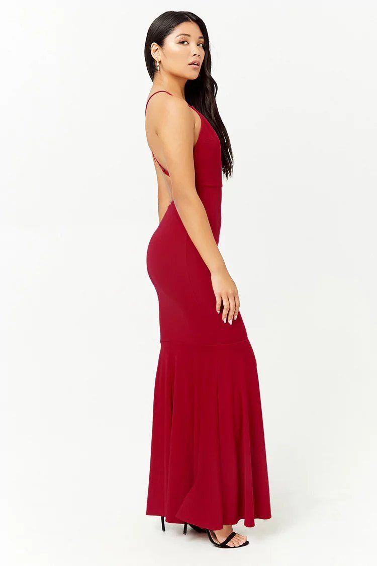640283e9a84 Plunging Cami Maxi Dress | Forever21 | forever 21 | occasion shop ...