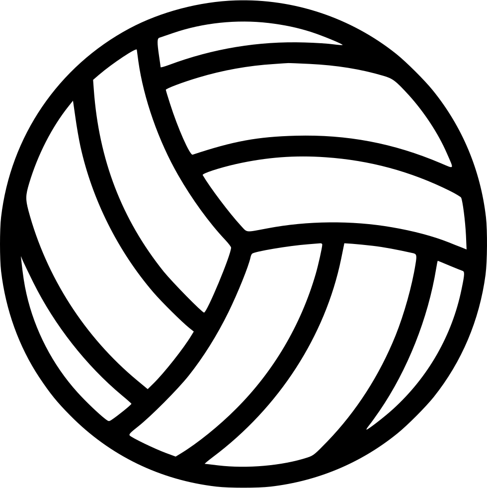 Found On Bing From Www Onlinewebfonts Com In 2020 Volleyball Designs Volleyball Silhouette Volleyball