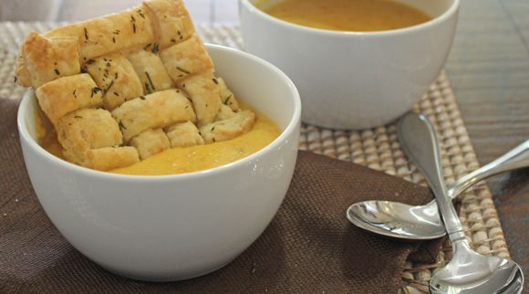 Thanksgiving Soup Dippers | Thoughtfully Simple