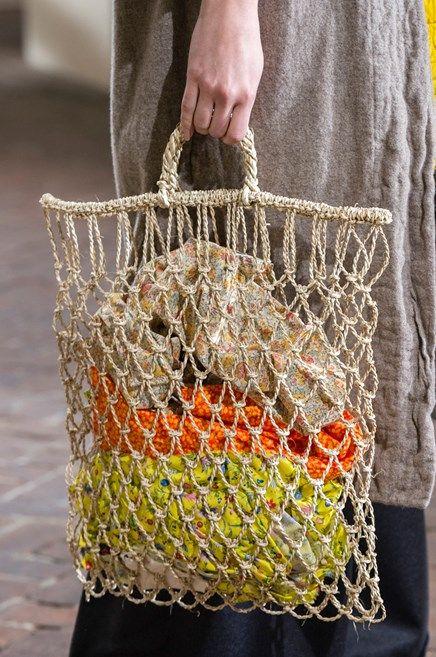 Autunno Inverno 2017 2018 Bag Crochet Market Bag Crochet