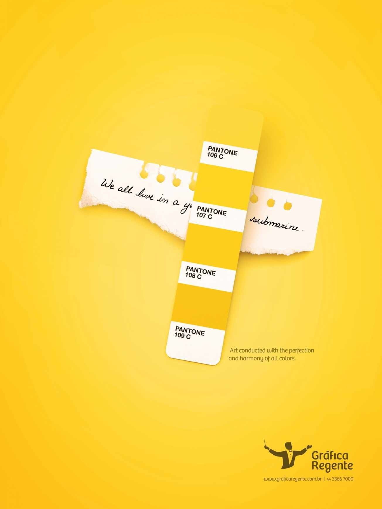 Print Advertisment Created By Jump Brazil For Grafica Regente Within The Category Professional Services
