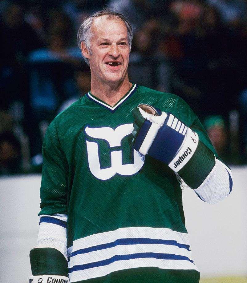 wholesale dealer 12efe d84f6 Gordie Howe #NHL #ToothlessWonders | Hartford Whalers ...