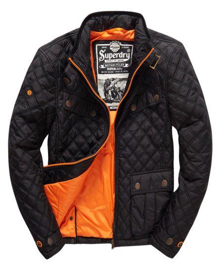 Superdry Apex Quilt JacketUSD $170.00 http://www.superdry.com/mens ... : mens black quilted coat - Adamdwight.com