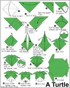 Easy Origami Sea Animals
