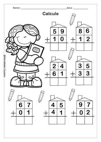 Pin on Math coloring worksheets