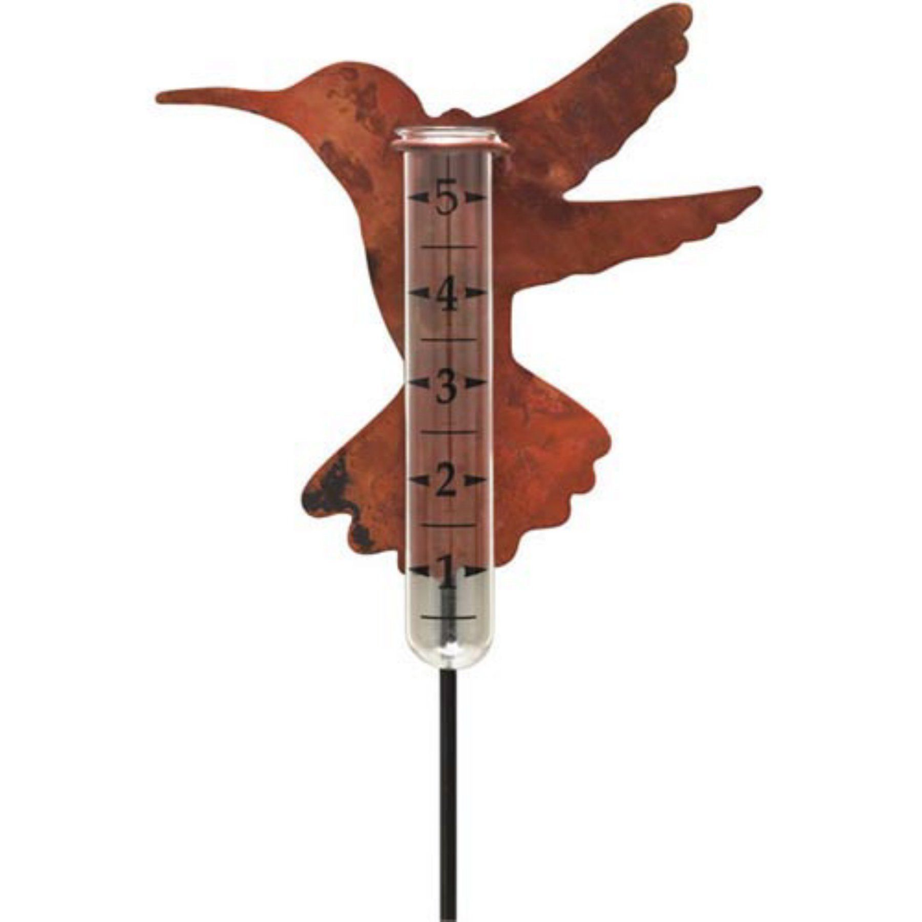 Ancient Graffiti Hummingbird Rain Gauge