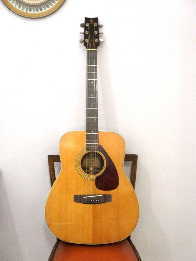 Yamaha Fg 280 Jumbo Acoustic Vintage Guitar Early Japan Tuners 1976 Vgc Yamaha Fg Guitar Acoustic Guitar