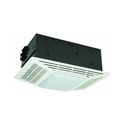 Broan 655 Heater And Bath Fan With Light Combination Bathroom
