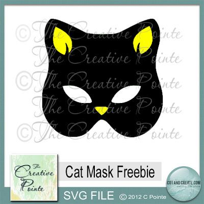 Cat Mask Freebie SVG