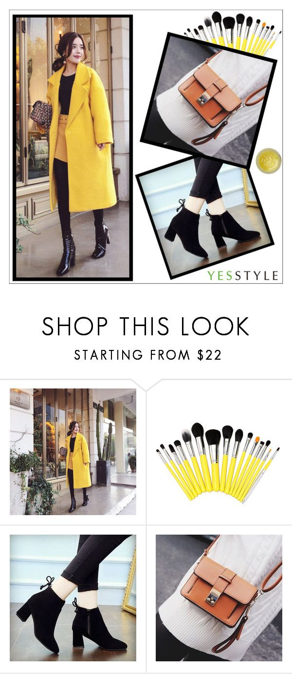 """YesStyle - 10% off coupon"" by goldenhour ❤ liked on Polyvore featuring Soveral, Winter and yesstyle"