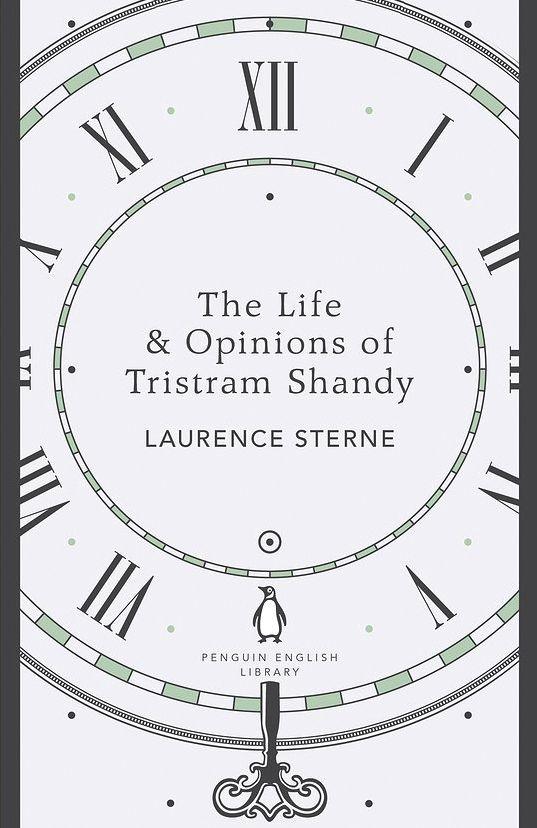 Tristram Shandy design by Viki Ottewill