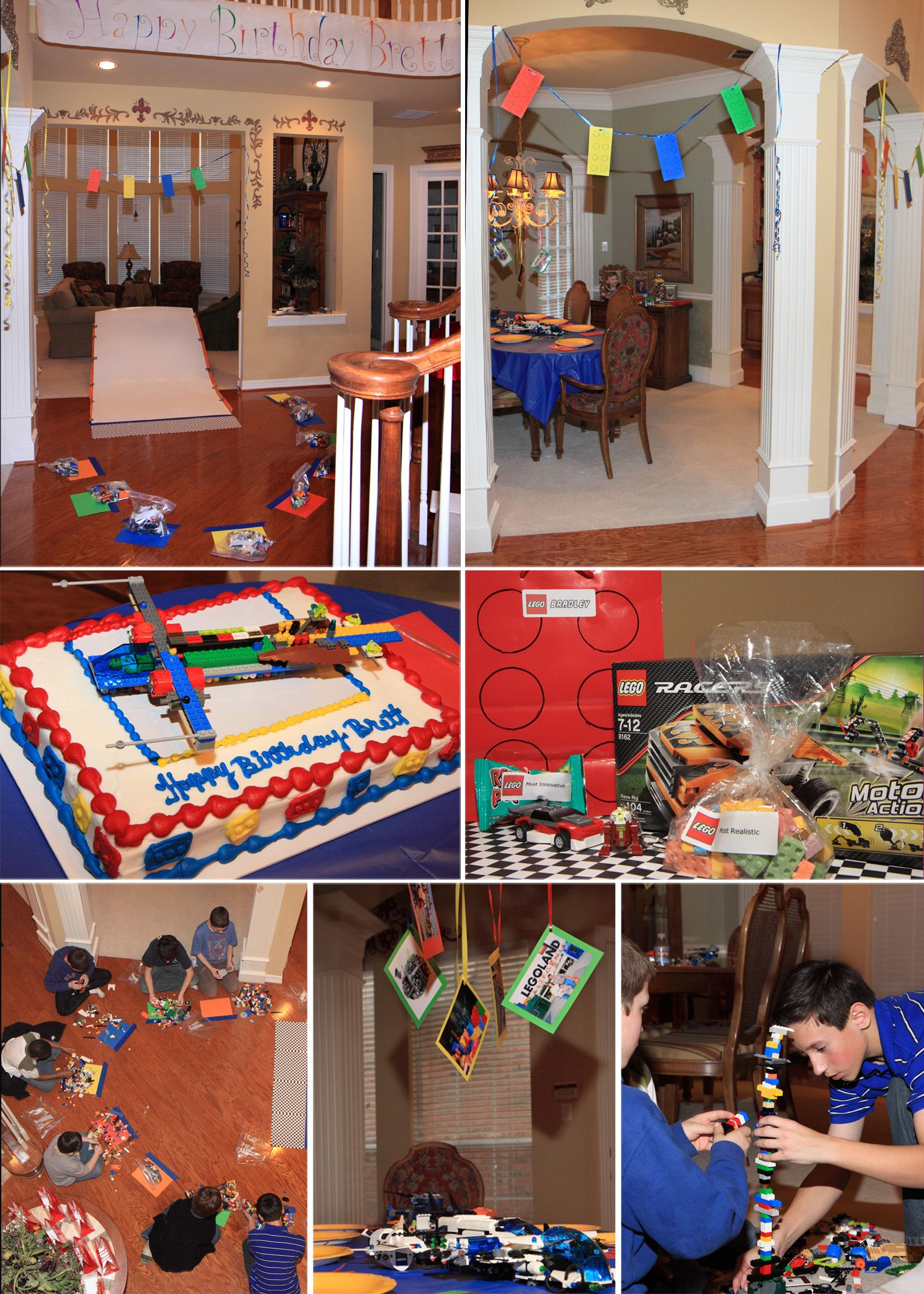 An 11 Year Old Boys Lego Birthday Party